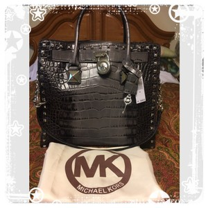 Michael Kors Tote in Grey & Black