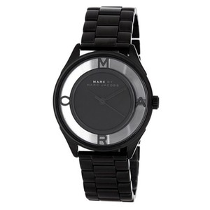 Marc by Marc Jacobs NWT Tether Clear & Black Stainless Steel Women's Bracelet Watch