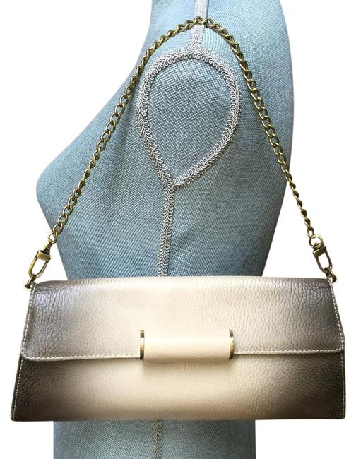 Item - Bcbg Max Azria Handbag Grey Leather Shoulder Bag