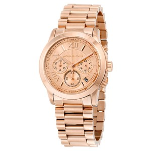 Michael Kors Michael Kors Cooper MK6275 Rose Gold Stainless Chronograph Watch