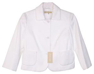 Michael Kors Collection White Blazer