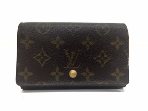 Louis Vuitton Louis Vuitton Monogram Bifold Tresor Wallet