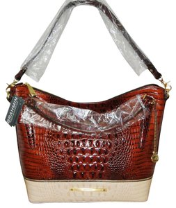 Brahmin Norah Coquette Tri Color Brand New Hobo Bag