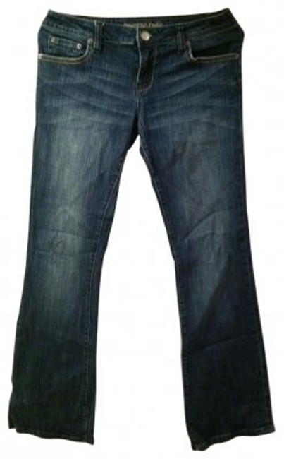 Preload https://item2.tradesy.com/images/american-eagle-outfitters-dark-rinse-hipster-stretch-flare-leg-jeans-size-29-6-m-19601-0-0.jpg?width=400&height=650