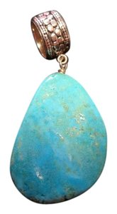 Mine Finds by Jay King Jay King Free Form Turqoise Pendant