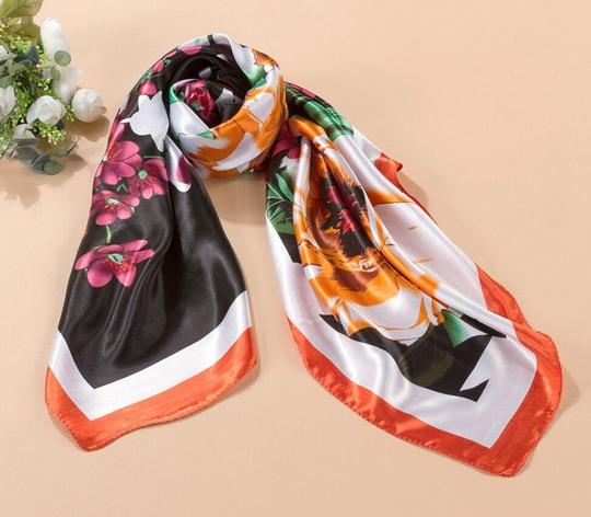 Multi Colored Bogo Free Poly Blend Scarf Free Shipping