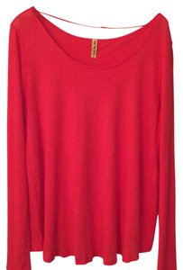 Free People T Shirt Red