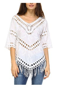 Standard Fashion Show Fringe Blouse Tunic