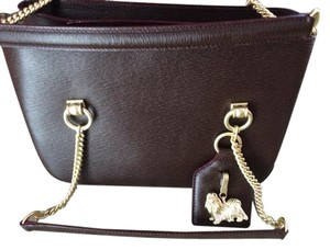 Barry Kieselstein-Cord Satchel in Burgundy