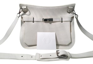Hermès Hermes Leather Unisex Cross Body Bag