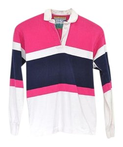 Vintage Polo Preppy Rugby Top