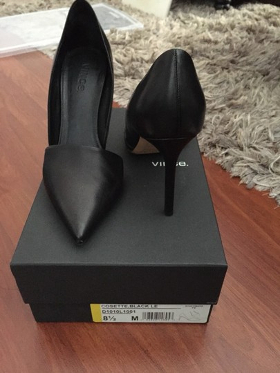 Vince Black Pumps