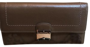 Marc Jacobs Marc Jacobs Double Groove Leather Wallet
