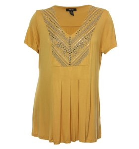 Style & Co Top Gold
