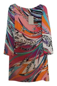 Emilio Pucci 52741 100% Silk Dress