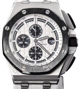 Audemars Piguet Pre-Owned Audemars Piguet Royal Oak Offshore Silver Dial Men's Watch