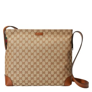 Gucci Messenger Travel Men's Gg Messenger Brown Messenger Bag
