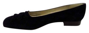 Talbots Barbie Slip On Suede Navy Pumps