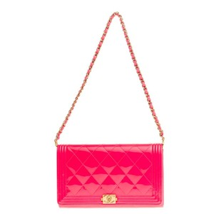Chanel Micro-mini Leather Satchel in Pink