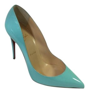 Christian Louboutin So Kate Pigalle Follies Decollete Iriza Light Blue Pumps