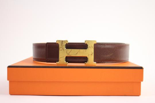Hermès Brushed Reversible H Logo Belt Kit 42HER919 Image 1