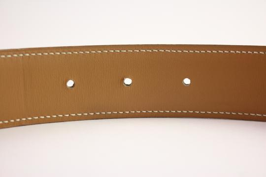 Hermès Brushed Reversible H Logo Belt Kit 42HER919 Image 4