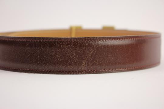 Hermès Brushed Reversible H Logo Belt Kit 42HER919 Image 7