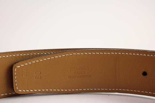 Hermès Brushed Reversible H Logo Belt Kit 42HER919 Image 8