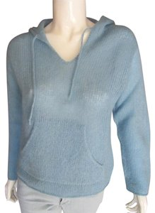 Margaret O'Leary Mohair Hoodie Irish Hand Knit Sweater