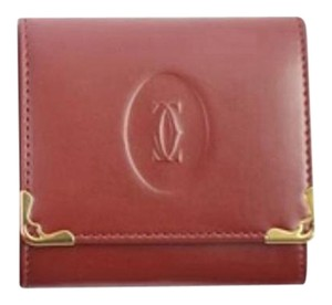 Cartier Bordeaux Small Wallet 46CAR919
