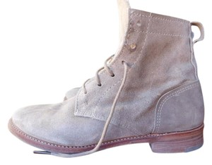 Vintage Shoe Company Suede Casual Leather Stone Boots