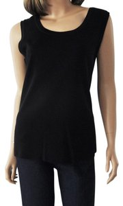 Misook Exclusively Knit Top Black