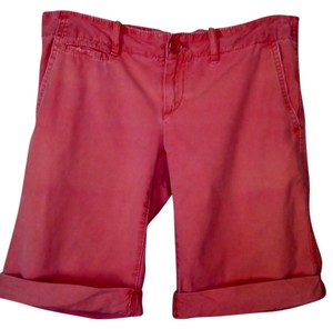Gap Boyfriend Machine Washable Comfortable Bermuda Shorts Coral