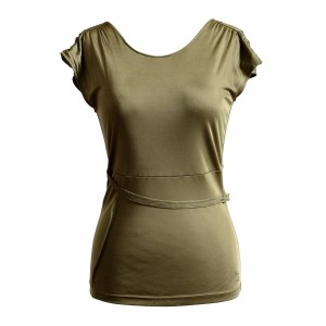 Versace Jeans Collection Top Olive Green