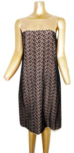 Akris Strapless Sheer Dress