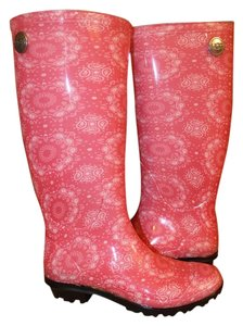 UGG Australia Racing Red/Pink Boots