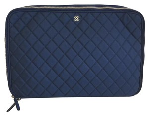 Chanel Quilted Laptop Bag