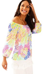 Lilly Pulitzer Roar Of The Wind Top