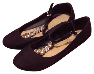 French Atmosphere Black Flats