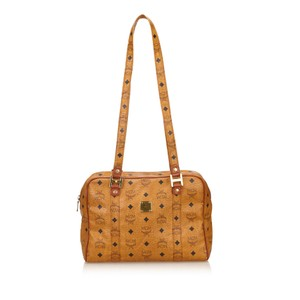 MCM Brown Leather Others 6hmcsh005 Shoulder Bag