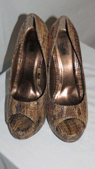 Other Multi Brown Pumps