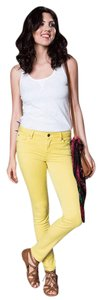 Level 99 Skinny Jeans Skinny Skinny Pants Antique Sun Yellow