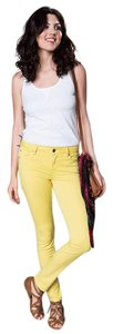 Level 99 Jeans Skinny Pants Antique Sun Yellow