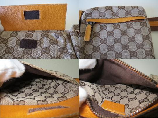 97ab4e8780e2 Gucci Coco Capitan Logo Belt Bag Yellow 493865. Gucci Belt Waist Pouch  Leather / Belt Yellow Brown Multi Jacquard Cross Body Bag - Tradesy