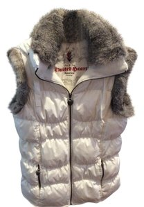 Twisted Heart Puffer Vest