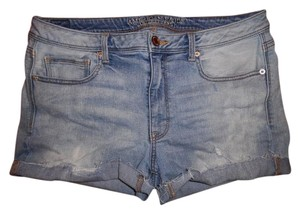American Eagle Outfitters Short Cutoffs Cut Off Shorts Light Blue