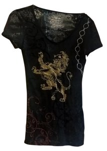 Veracity Nordstrom Royal Lion T Shirt black