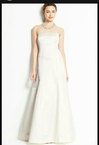 Ann Taylor Dutchess Satin Strapless Wedding Dress Wedding Dress
