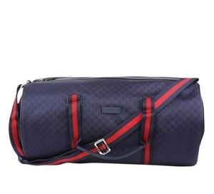 Gucci Gym Blue Travel Bag