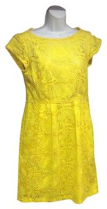 Nanette Lepore short dress Yellow on Tradesy